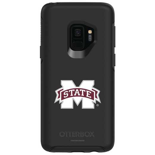 GAL-S9-BK-SYM-MSST-D101: FB Mississippi St OB SYMMETRY Case for Galaxy S9